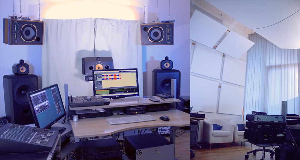 das-tonstudio-artis-mastering-in-wien-leopoldstadt-von-robert-eder-für-mastern-mischen-aufnahmen-videos-blau-beleuchtet
